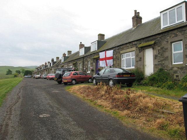 Farm Cottages at Whitton, near Morebattle