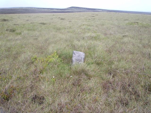 Boundary stone on Jackson's Ridge