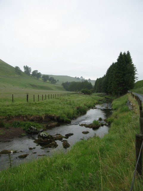 Kale Water, near Chatto