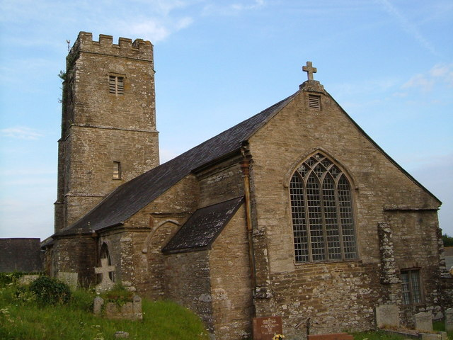 St Peter's Church, Cornworthy