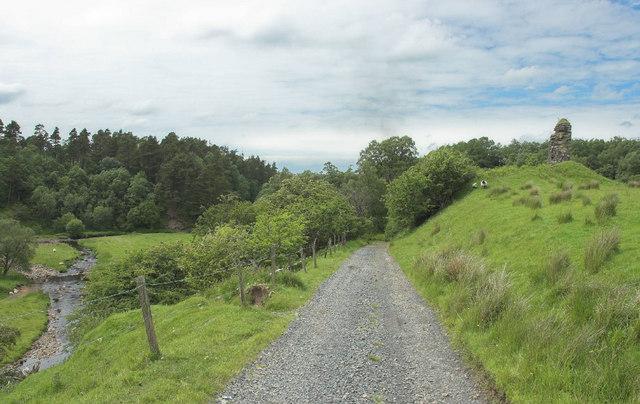 Remains of Kyle Castle