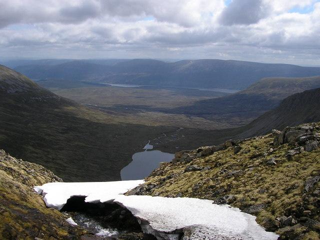 Looking toward Loch an Sgòir