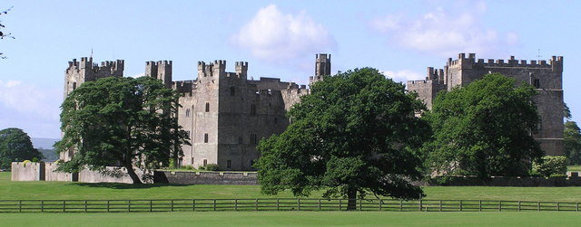Raby Castle.
