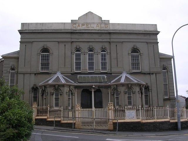 Capel Als, Marble Hall Road, Llanelli.