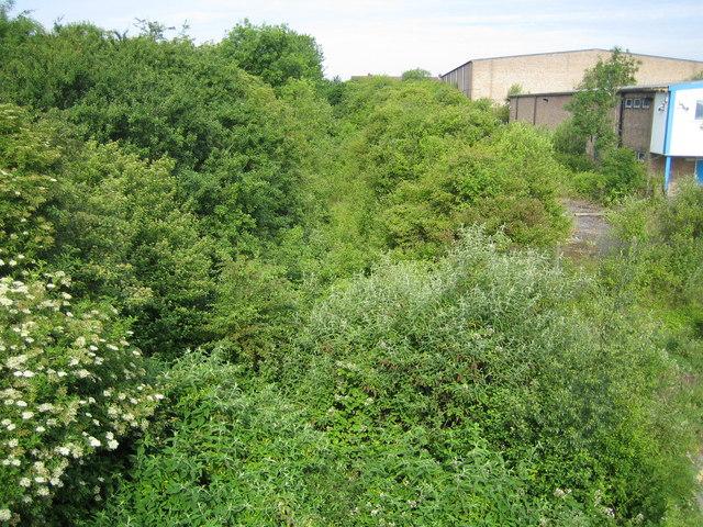 Luton: Disused railway