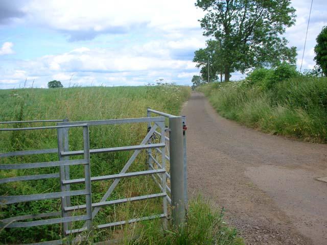 Frisby Lane, Little Harrowden
