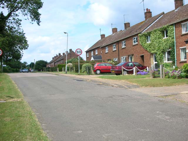 South end of Pytchley village