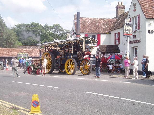 Village life in Blunham
