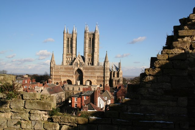 A classic view of the Cathedral