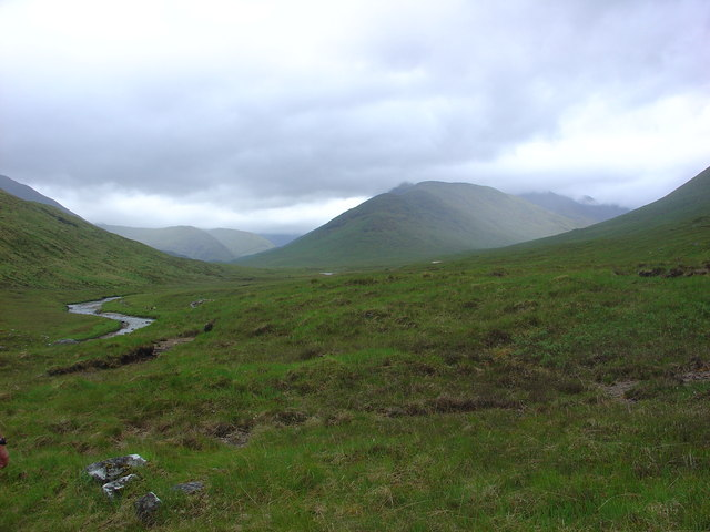 West along River Affric