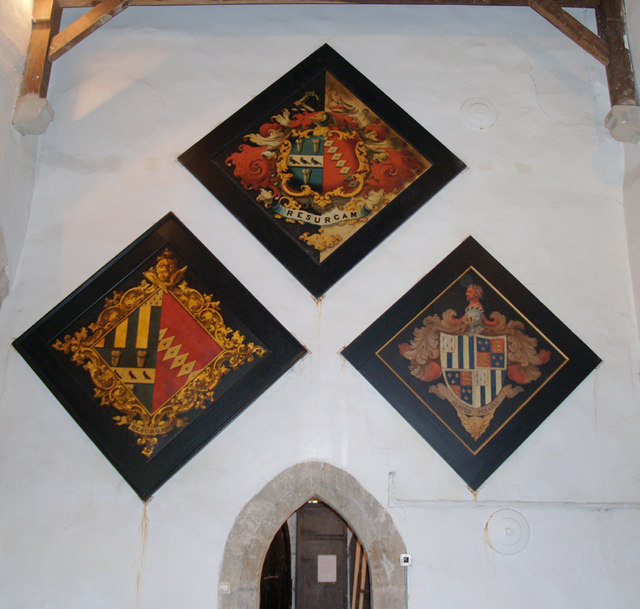 Hatchments in Horkstow Church