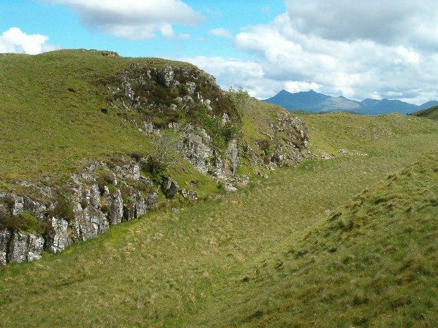 Small crag