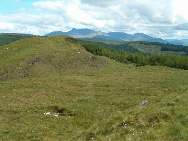 Moorland above Inverinan Forest