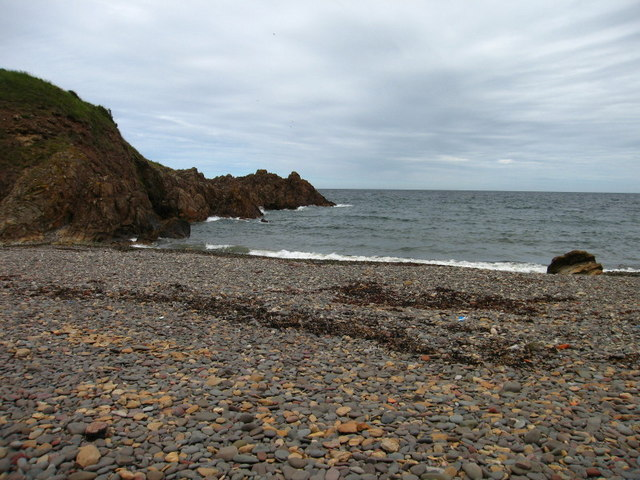 Milldown Point and Beach, Coldingham