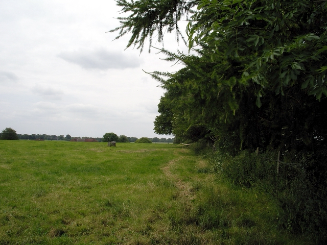 View south west from Mill Lane