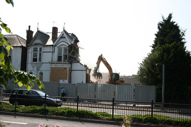 Demolition at St.Catherines