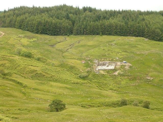 Sheepfold above Fernoch