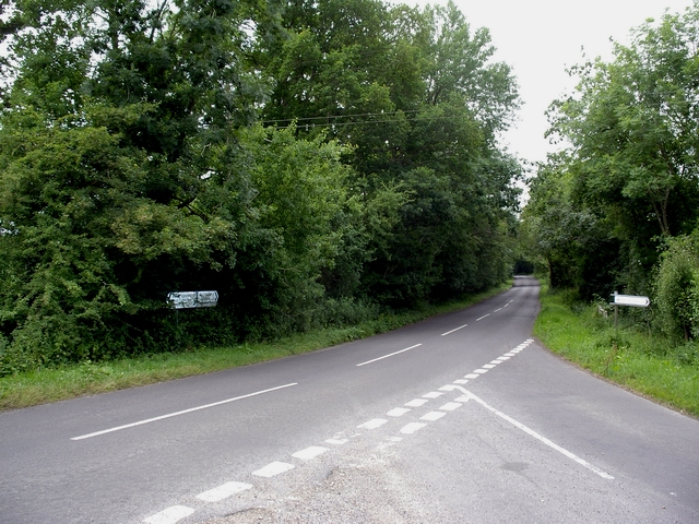 Junction of Dean Road and West Dean Road