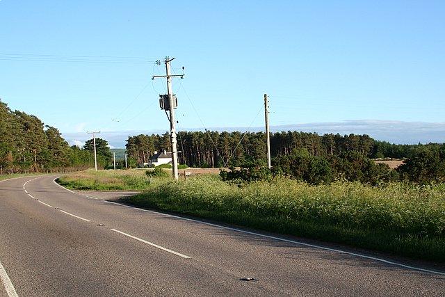 Burnside of Birnie: south of Elgin.