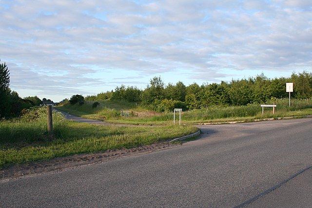 Looking towards Hallowood, Morayshire.
