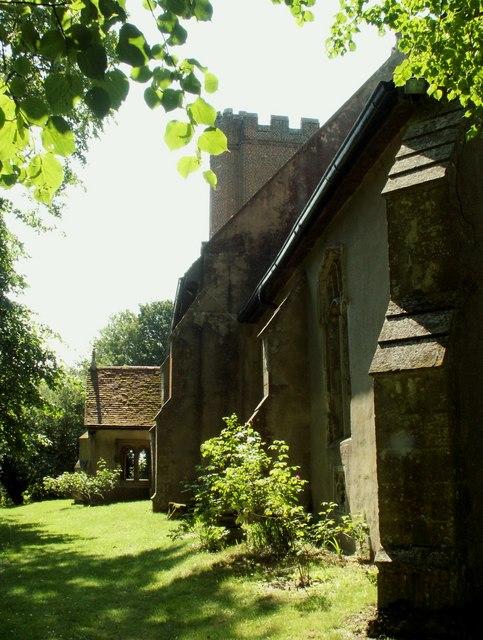 St. Margaret's church, Tilbury-Juxta-Clare, Essex