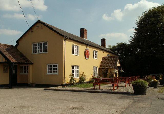 'The Red Rose' inn, Lindsey Tye, Suffolk