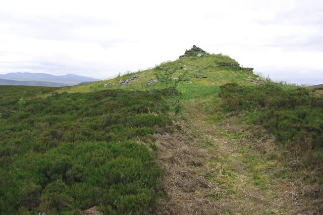 Summit of Y Foel