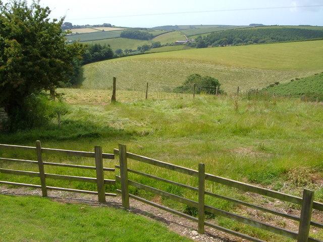 View from Bruckton Farm
