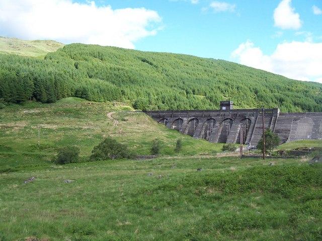 Tarsan Dam and An t - Sron