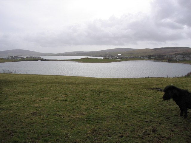 The Ouse, just north of Finstown