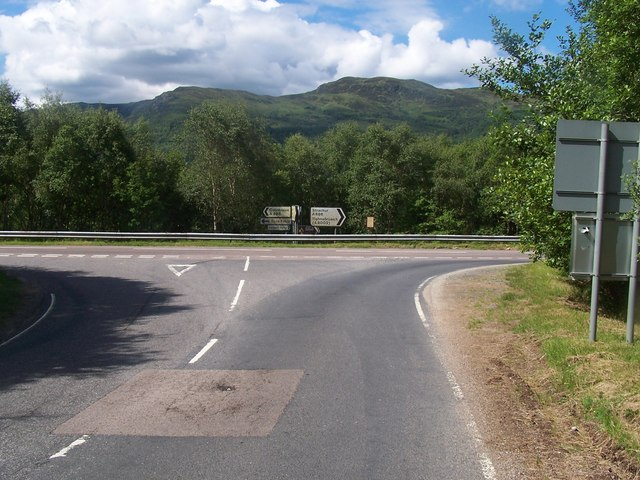 Loch Striven - Colintraive,  Road Junction