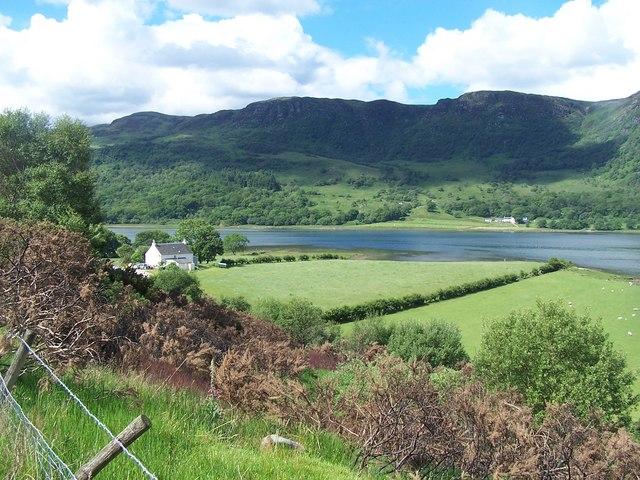Loch Striven - Colintraive, Ardachuple Farm