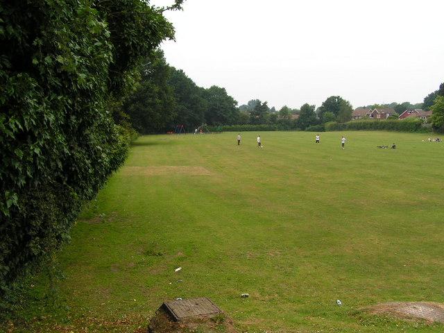 Playing fields off Higham lane, North Tonbridge