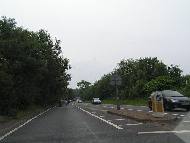A21 climbing Castle Hill