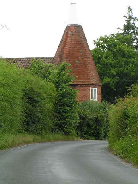 Converted Oast house, near Tudeley