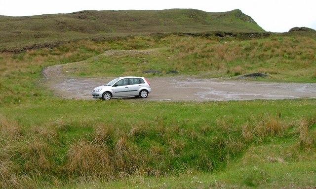 Car Park for Quinag