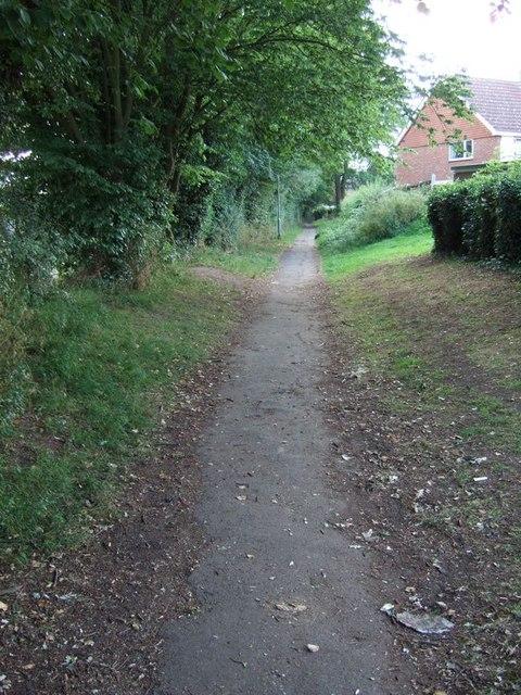 Pulleys Lane, Warners End
