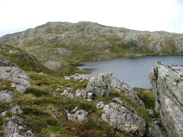 Small Knoll Overlooking Loch Bealach a'Bhuirich