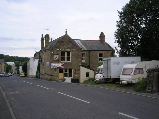 The 'Hole in the Wall', Foulridge, Lancashire