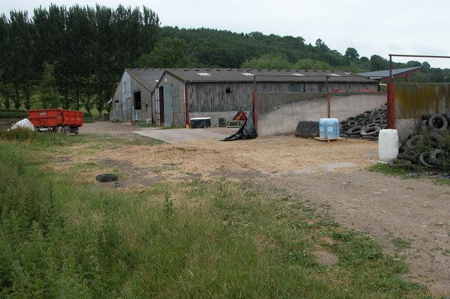 Farm Buildings at Bronydd Farm