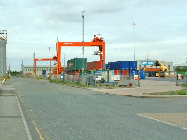 Goole, Albert  Street, Container Compound