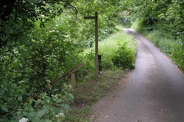 Offa's Dyke LDP signpost