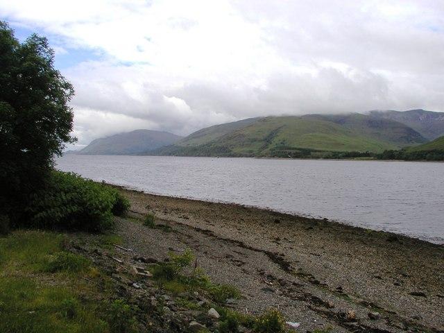 Loch Linnhe near Fort William