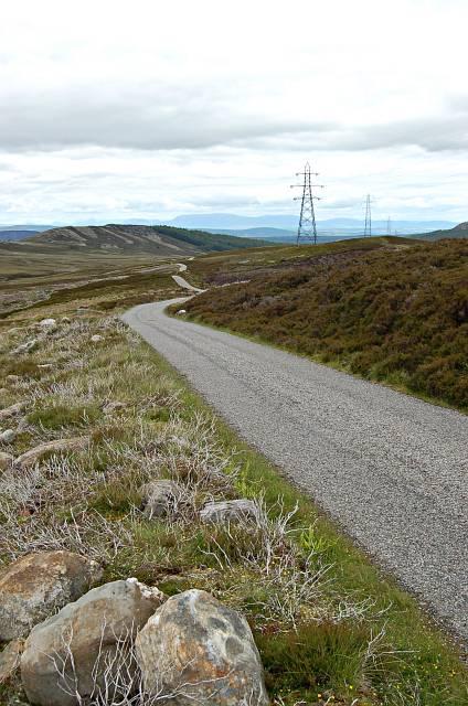 The Garbole to Farr road