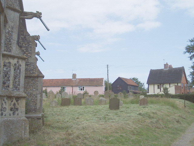 Cottages in Theberton