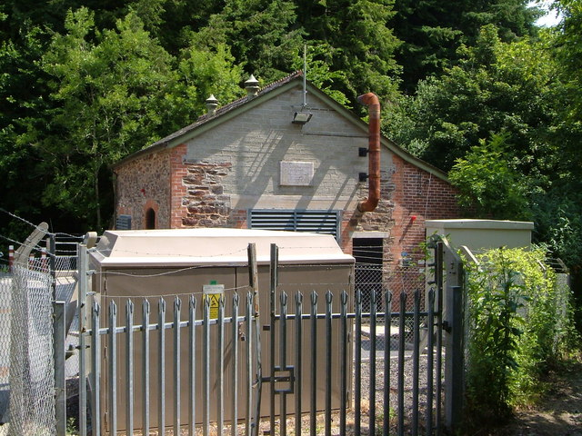 Pumping Station near Old Mill, Dartmouth