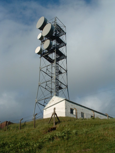 Radio mast at Gallanach