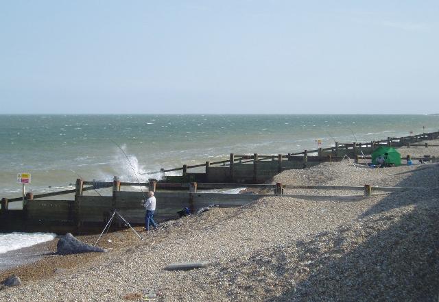 North Sea coast south of Aldeburgh