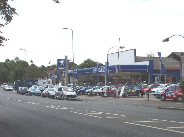 Car showroom, Iffley Road, Oxford
