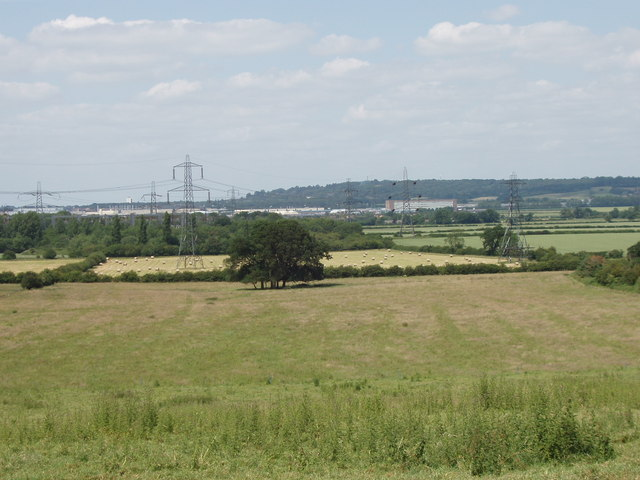 View of Cowley from Toot Baldon